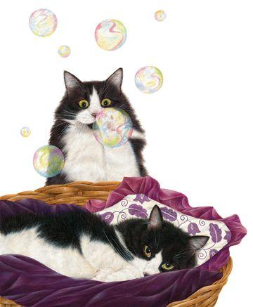 Bubbles Art of Anne Mortimer.......