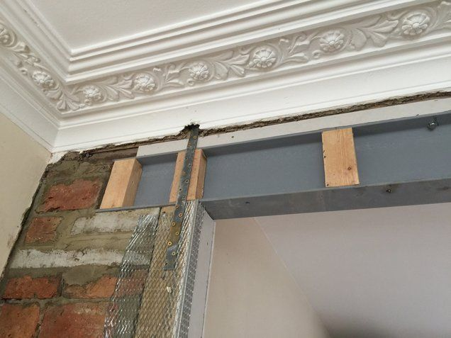 Project Steel Beam Installation Lewisham Removal Of