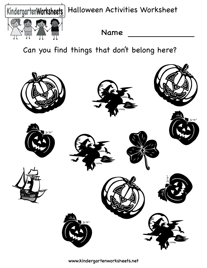 math worksheet : 1000 images about free halloween worksheets on pinterest  : Halloween Kindergarten Worksheets