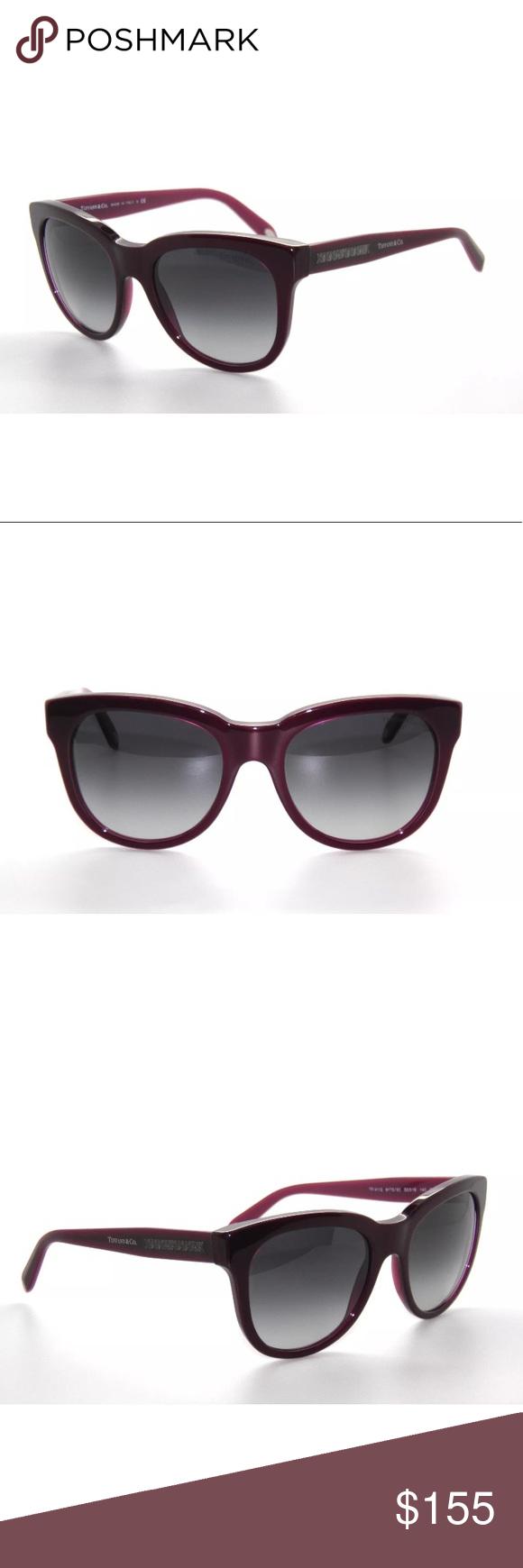 525ae76bba33 Authentic Tiffany Plum Sunglasses 4112 New Comes with Tiffany case. Authentic  Tiffany   Co. Accessories Sunglasses