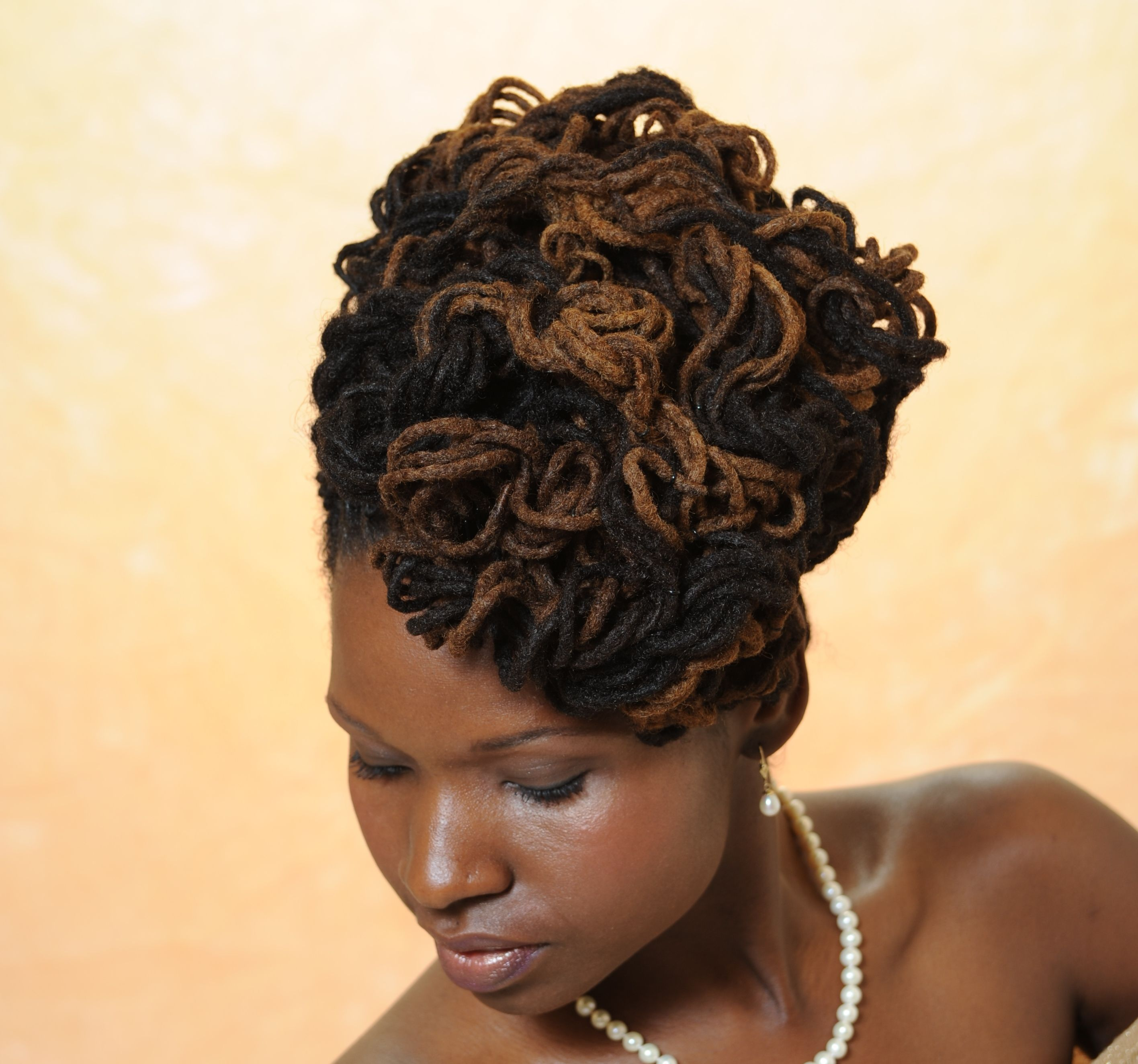from urban natural styles | african american locked formal