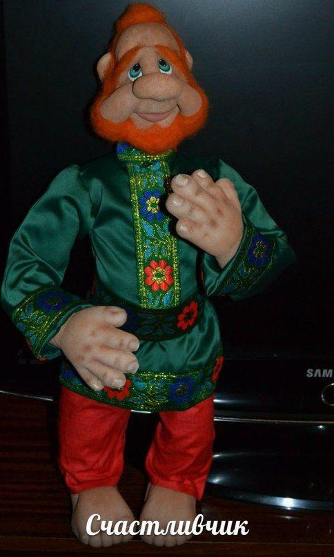 Интерьерная кукла,кукла из капрона ,скульптурный текстиль ...