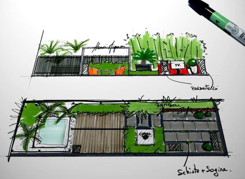 Plan de jardin david mourr henri mignon paysagiste for 3d jardin paysagisme