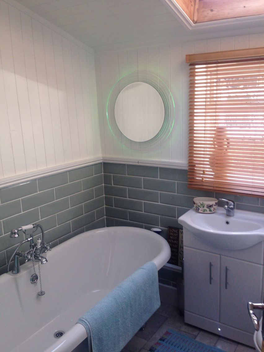 Newly installed bathroom with skirting lights colour changing newly installed bathroom with skirting lights colour changing mirror and light sensor mozeypictures Images