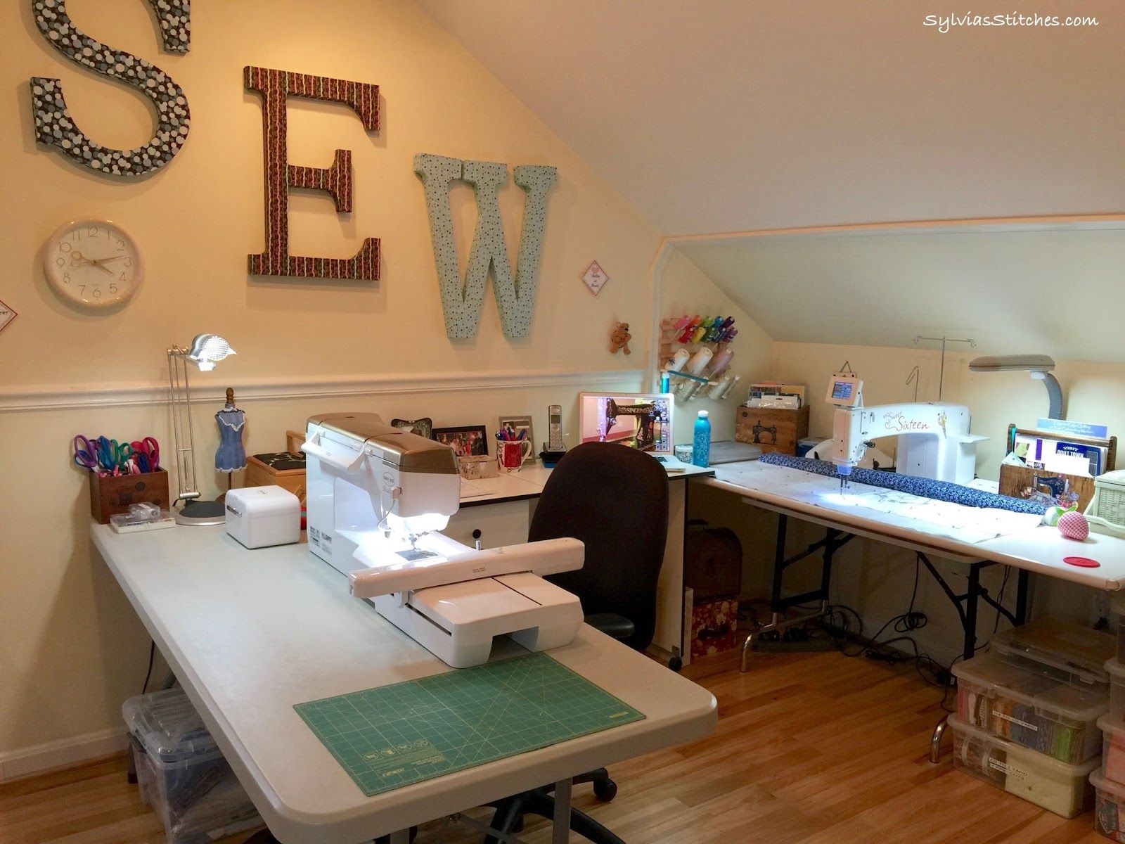 Sewing Room Rearrange Sewing Room Design Small Sewing Rooms Sewing Room Organization