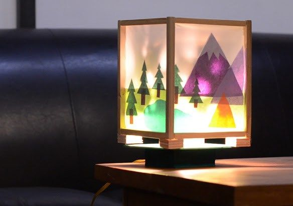 7 Cool Maker Camp Projects You Might Have Missed Diy Lanterns Lamp Beautiful Lamp