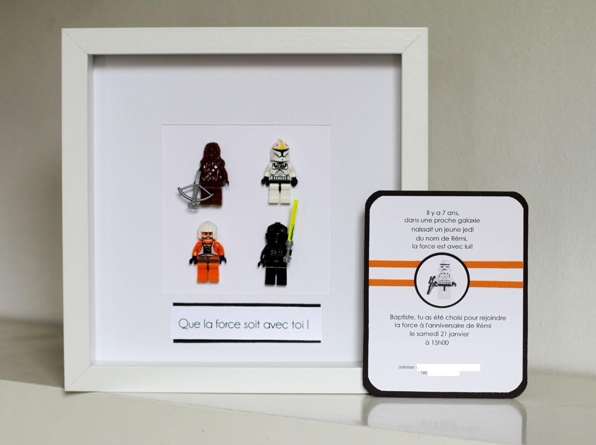 Idee Invitation Anniversaire Enfant Theme Star Wars
