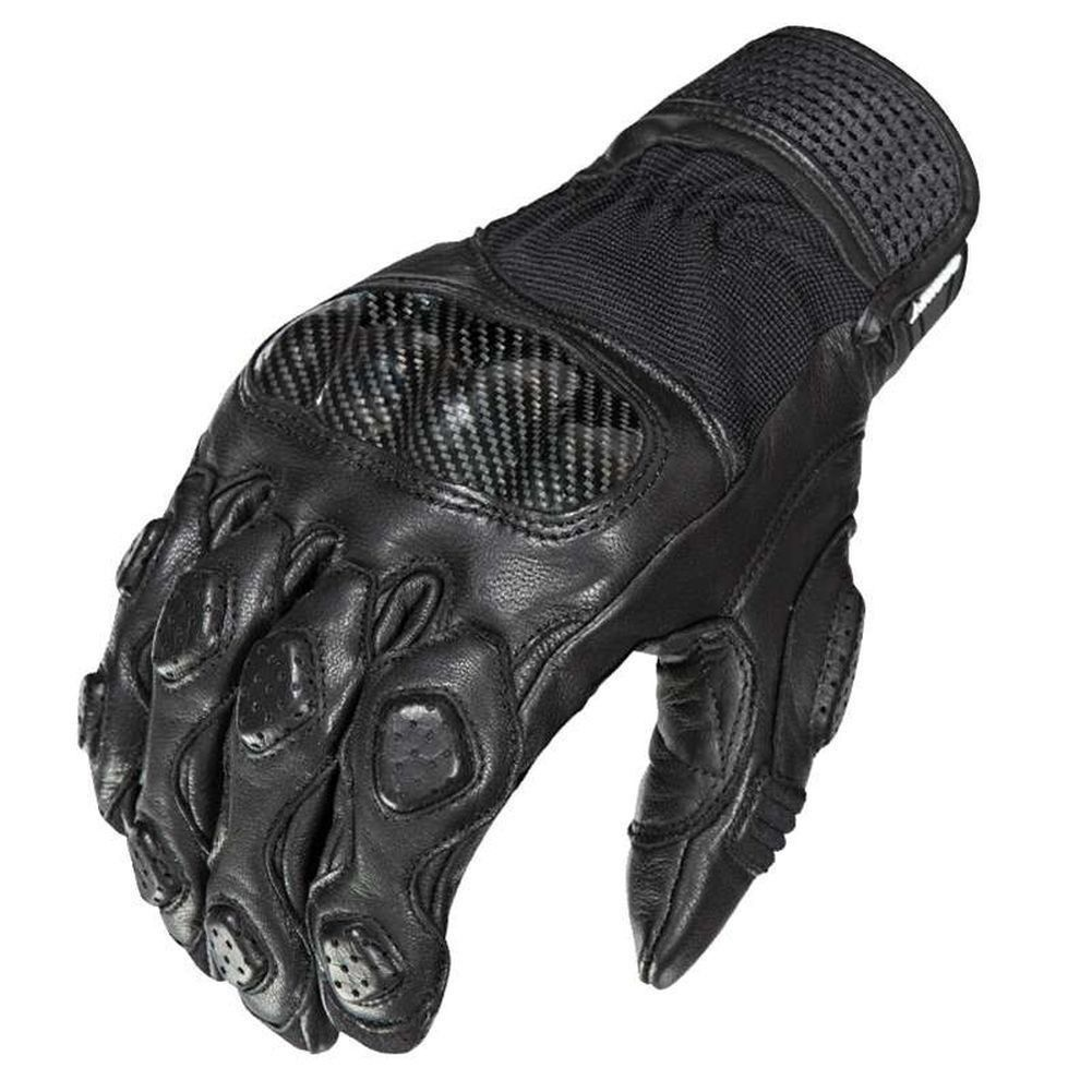 Icon Anthem 2 Stealth Mesh//Leather Touchscreen Motorcycle Womens Gloves