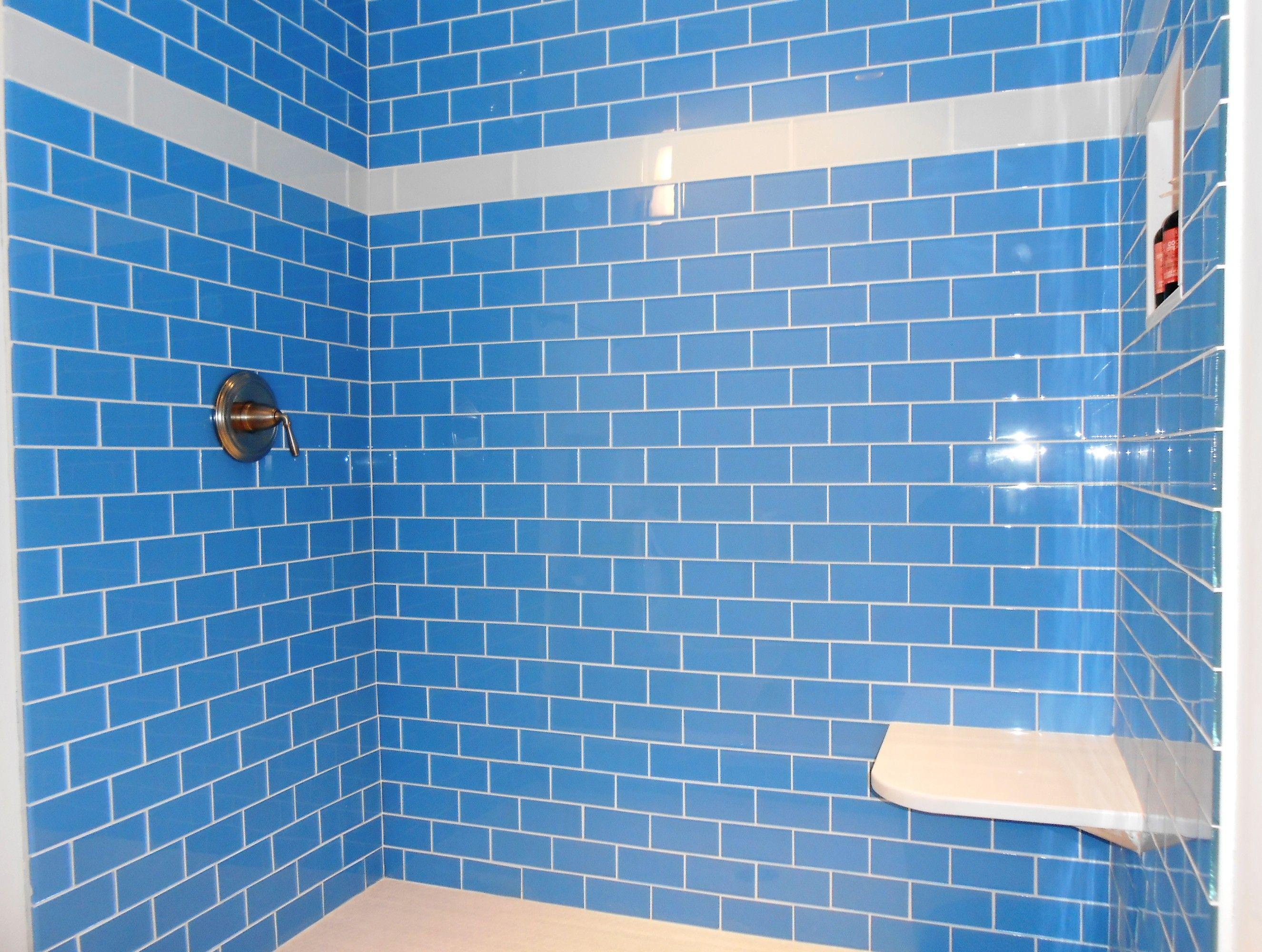 Installing A Tile Shower. Step 6. Showers Schluter Installing Tile ...