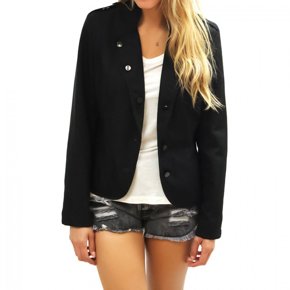 Black Blazer-CRISTIAN LAY - Outerwear - Women