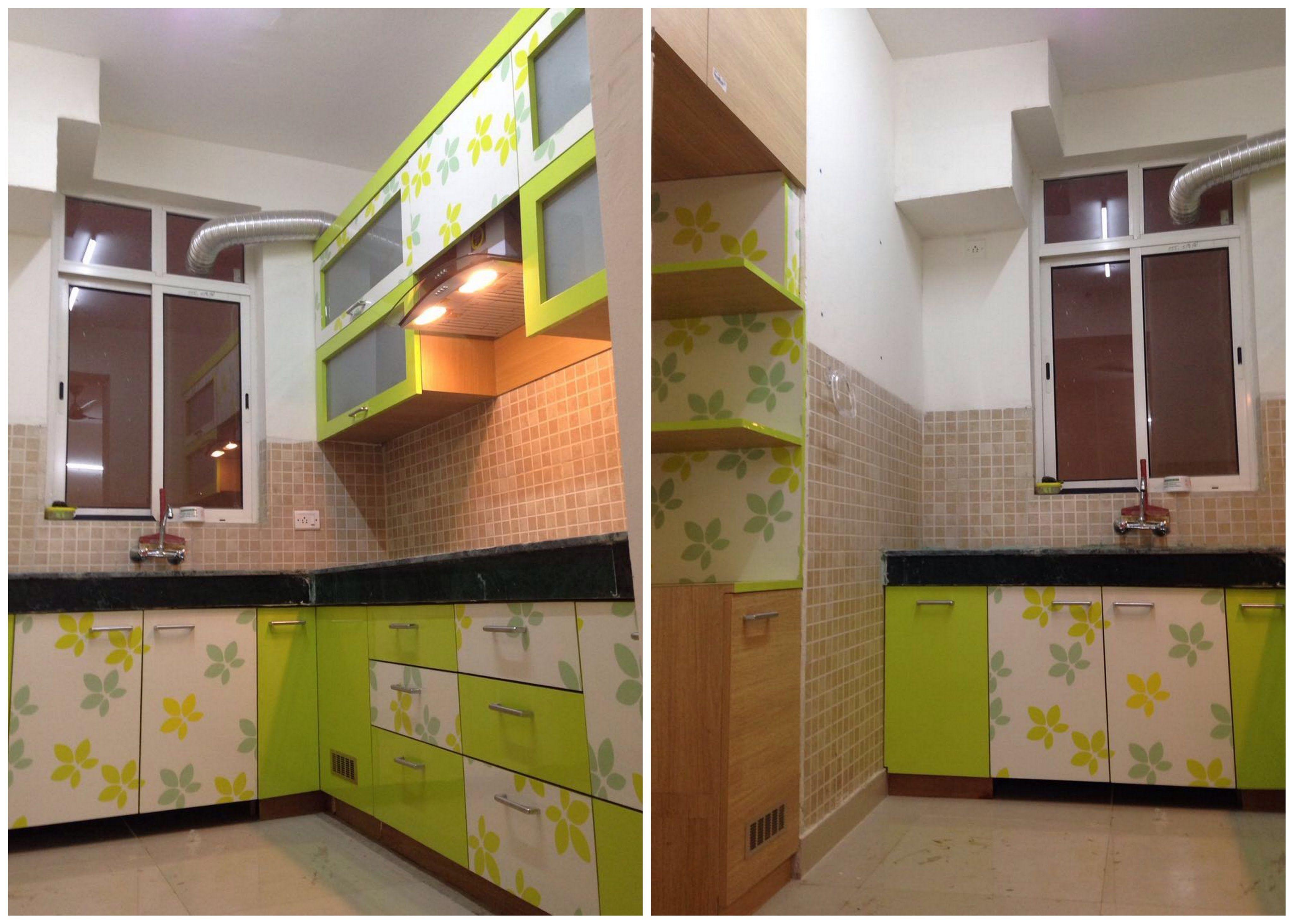 The Adorning Concepts Semi Open Kitchen Concepts India Development ...