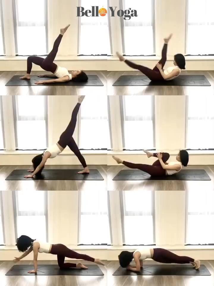 TPE Yoga Mat with Position Line Non-Slip Carpet Ma