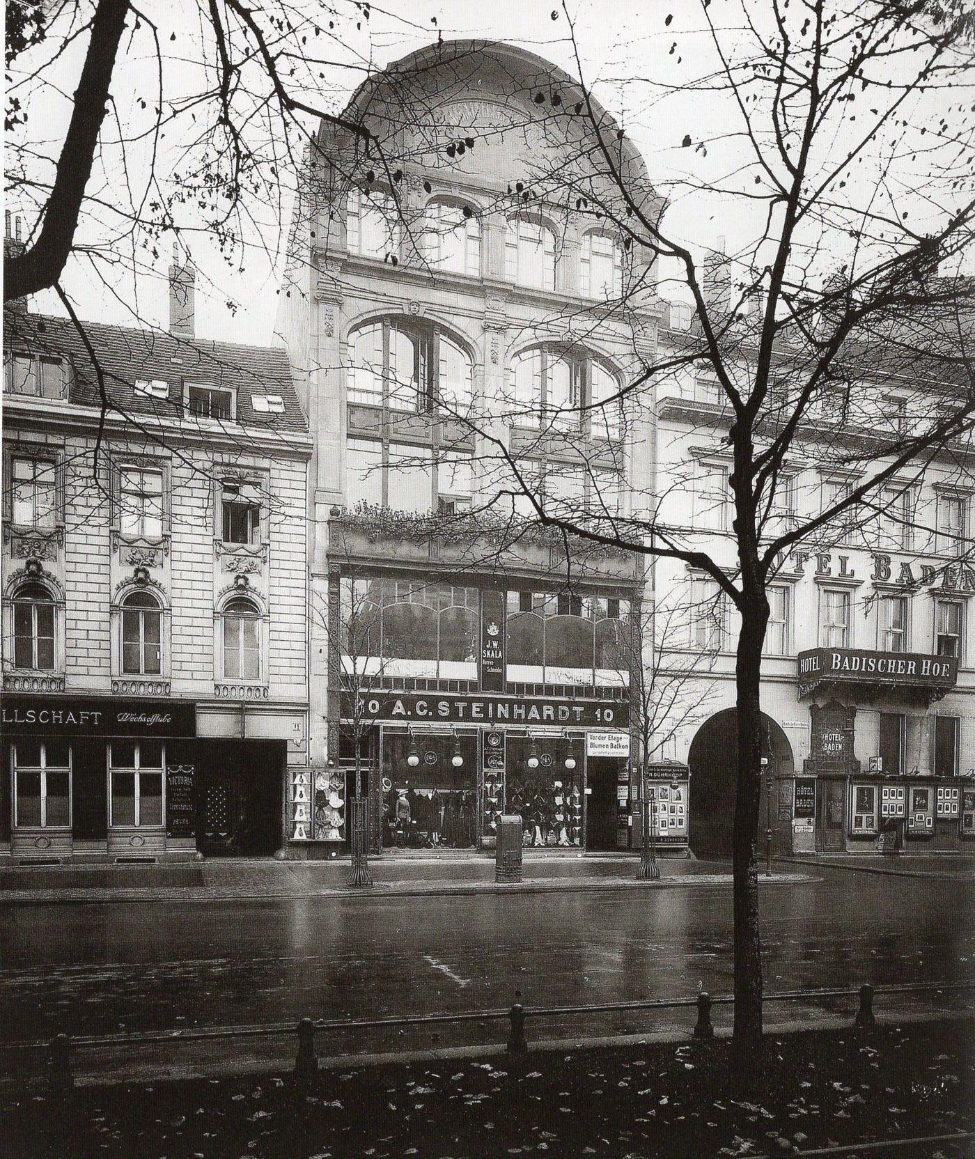 Berlin, Unter den Linden 10 Jugerndstil Modehaus A.C