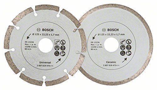 Disque Diamant Bosch 2607019484 Pour Meuleuse Carrelage Et Maconnerie 125 Disque Diamant Bosch Meuleuse