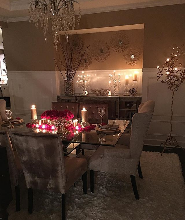 Instagram Photo By Interior Design Home Decor Feb 13 2016 At 4 44pm Utc Elegant Dining Room Home Decor Decor