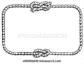 Rope Knot Border Clipart 1 Jpg 350 265 Clip Art Borders Rope Knots Clip Art