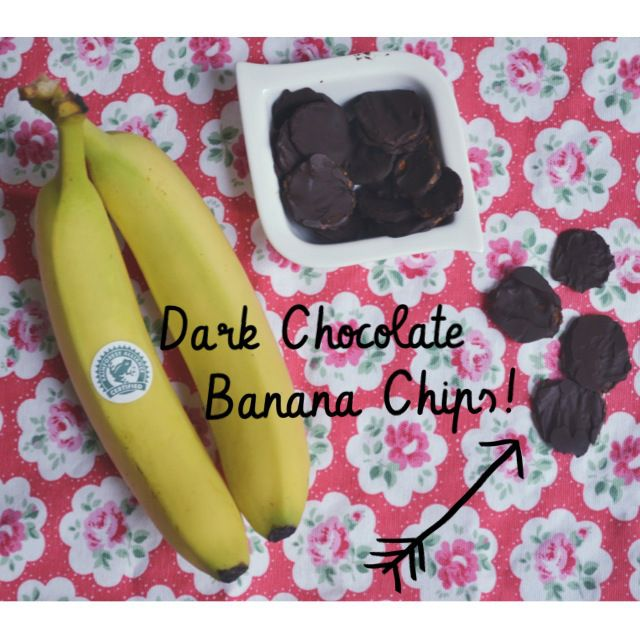 Dark Chocolate Banana Chips
