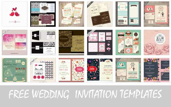Wedding invitation template card invitation making ideas here are 20 free editable wedding invitation card templates and other materials like save the date and rsvp cards in vector format stopboris Images