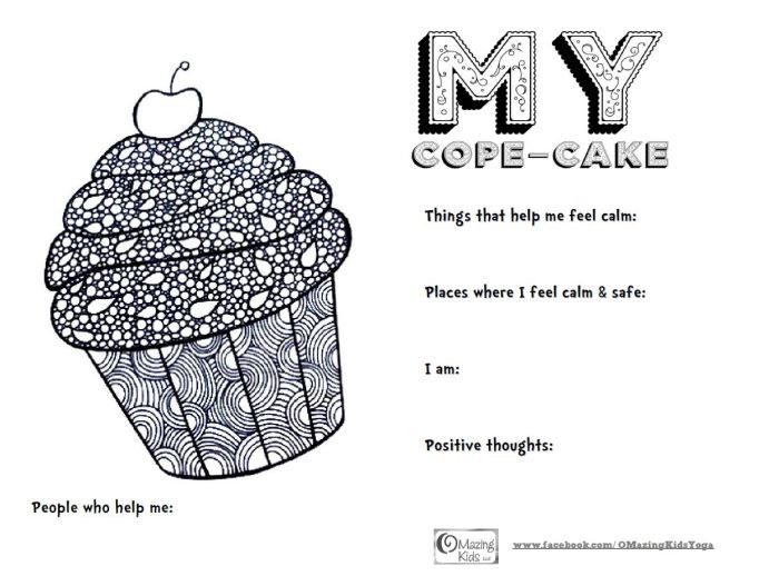 My Cope Cake Free Printable From Omazing Kids Therapeutic