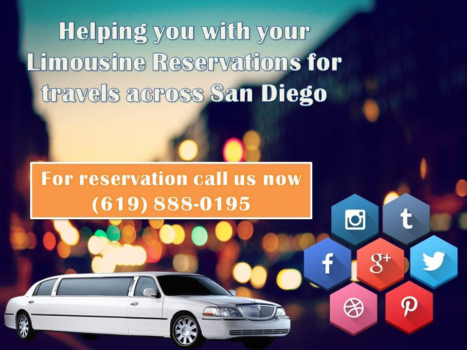Helping you with your Limousine Reservations for travels across San Diego