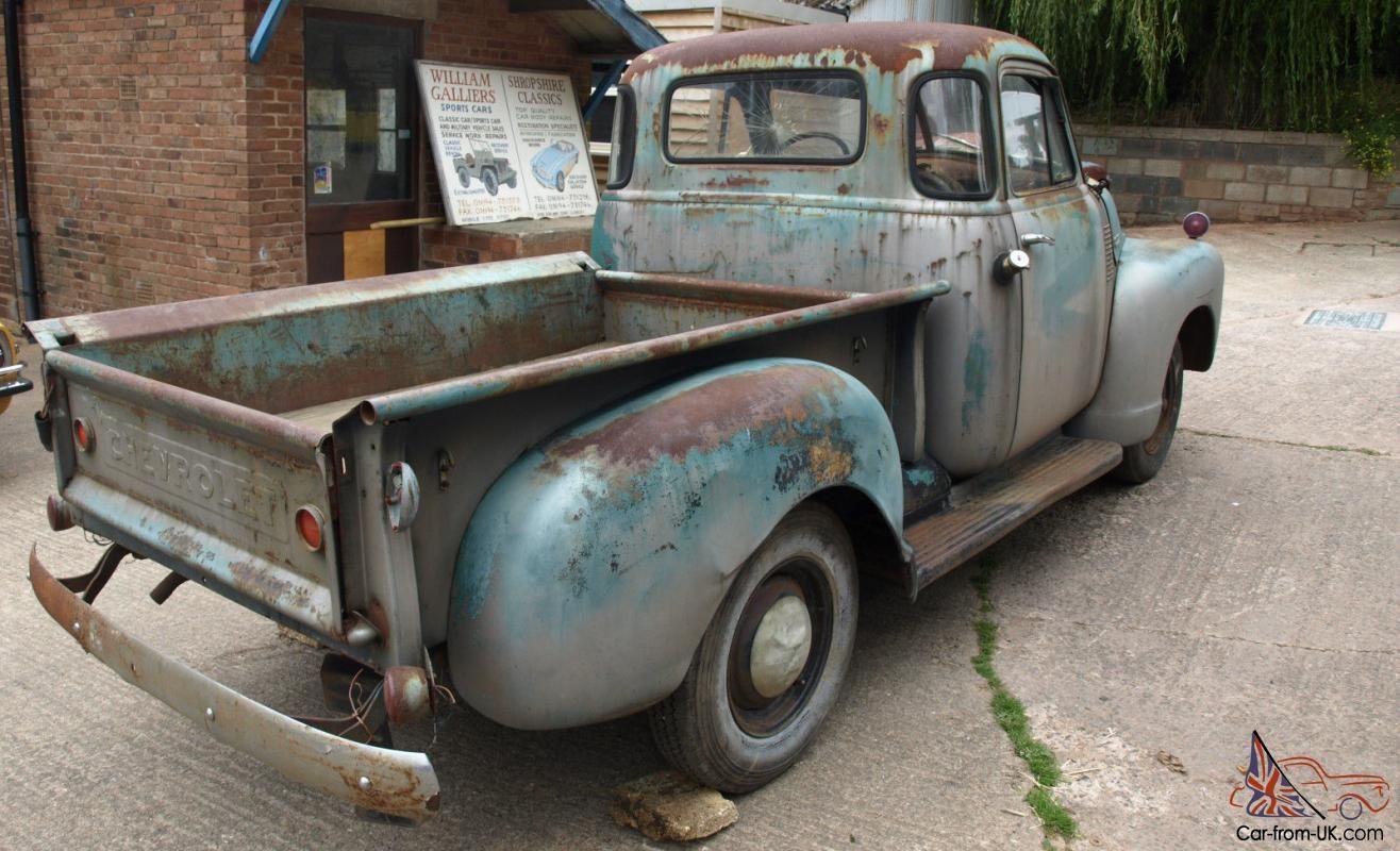 Chevrolet 3100 1 2ton Pickup 1951 Chevy Trucks 1951 Chevy Truck
