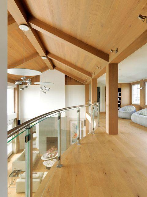 Loft contemporary lounge room