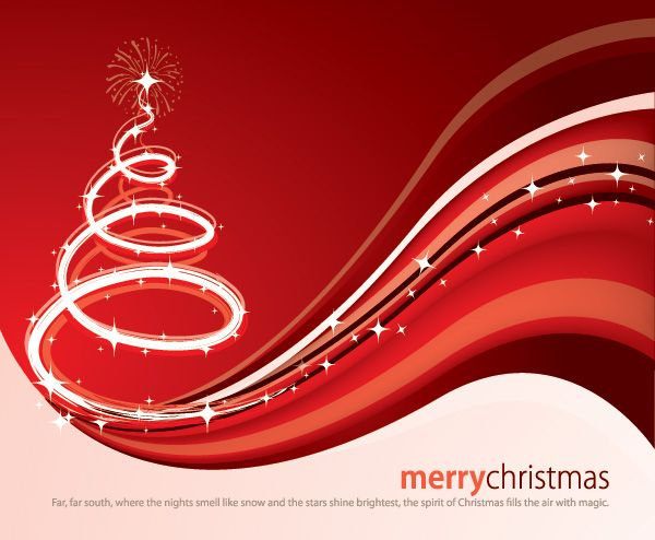 Christmas Magic Card Vector Graphic U2014 Merry Christmas, Celebration, Front  Page, Decoration,