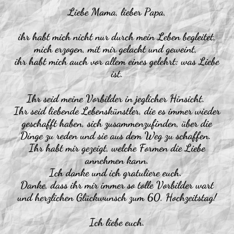 Spruche Zur Diamantenen Hochzeit Gedichte Zitate Spruche Zur Diamantenen Hochzeit Spruche Diamantene Hochzeit Liebe Mama