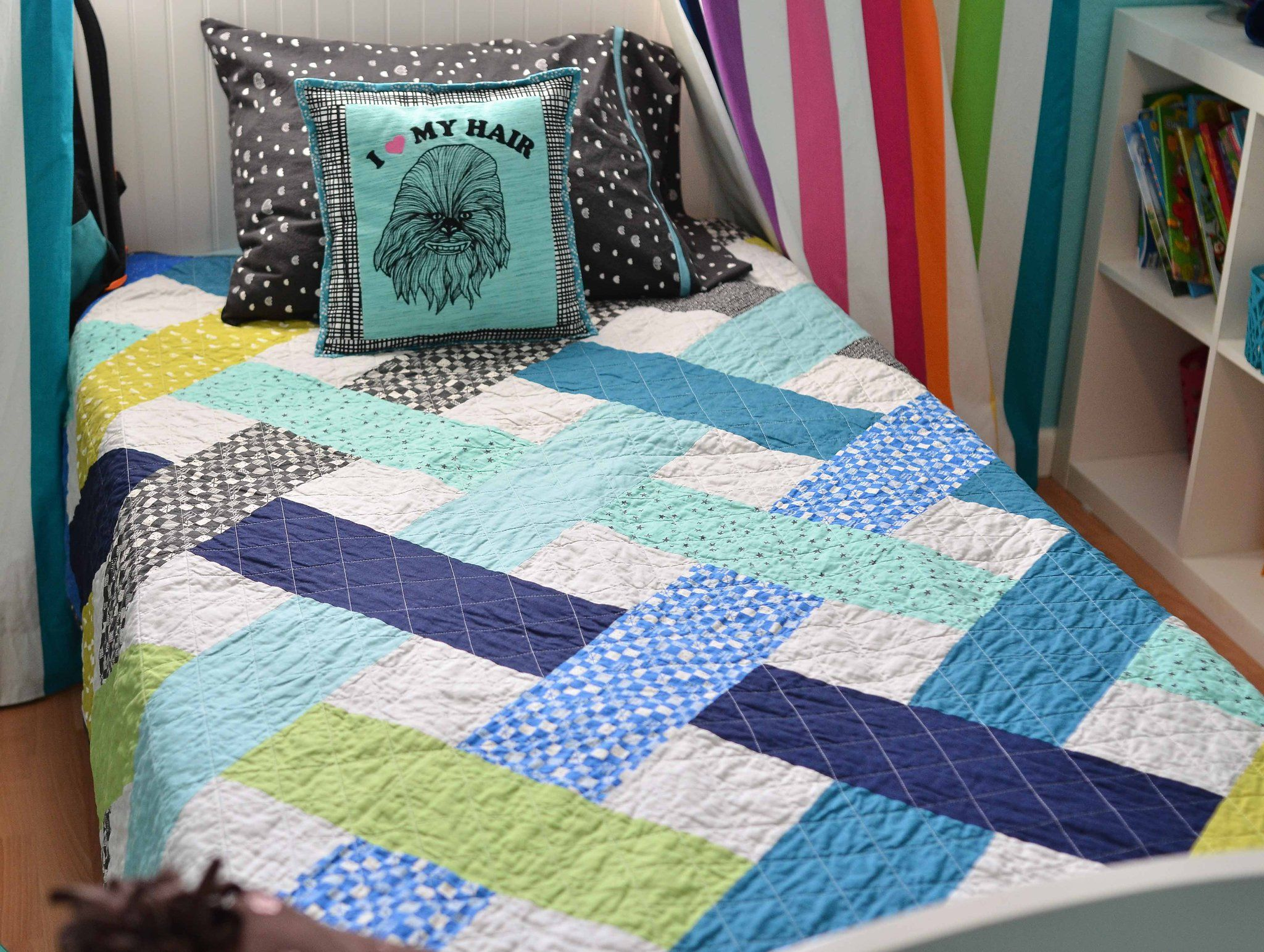 The Betty Quilt PDF Pattern | Pdf, Patterns and Quilt modern