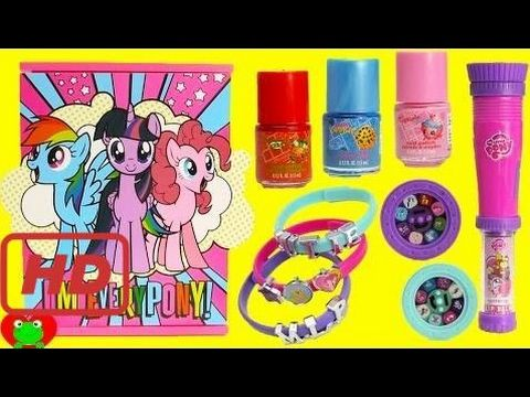 My Little Pony Jewelry Box New My Little Pony Jewelry Box With Nail Polish And Lip Gloss Surprises