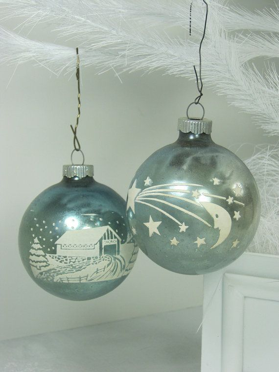 Vintage Christmas  C B Christmas Tree Ornaments  C B Black Friday Sale Take  Off With Coupon Code Blackfriday Mercury