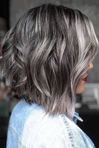 How to Get and Take Care Of the Salt And Pepper Hair Trend -   7 hair Grey highlights ideas