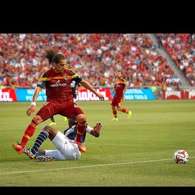 Devon Sandoval – Gnarly Nutrition Soccer player for Real Salt Lake. #soccer #gnarlynutrition
