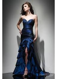 Image result for long blue dresses