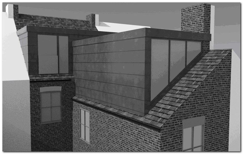Simple Loft Conversion Ideas for Dormer #loftconversions