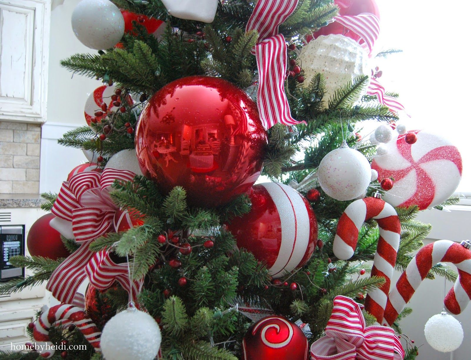 Candy Cane Christmas Tree Decorations For Years My Kiddos Have Been Begging Me To Set Up A Second Tree