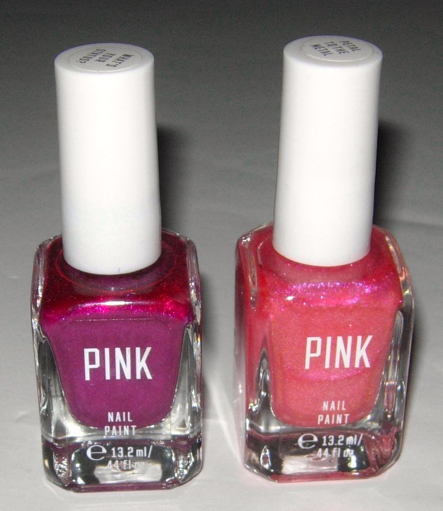 Victoria\'s Secret PINK Petal To The Metal Whats Your Status Nail ...