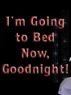 Going To Bed