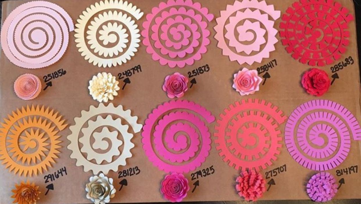 Pin By Esther On Sewing Projects Pinterest Paper Flowers