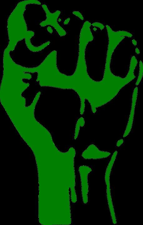 Image Gratuite Sur Pixabay Poing Souleve Puissance La Force Graffiti Avec Pochoir Pochoir Pour Animaux Pochoir Street Art