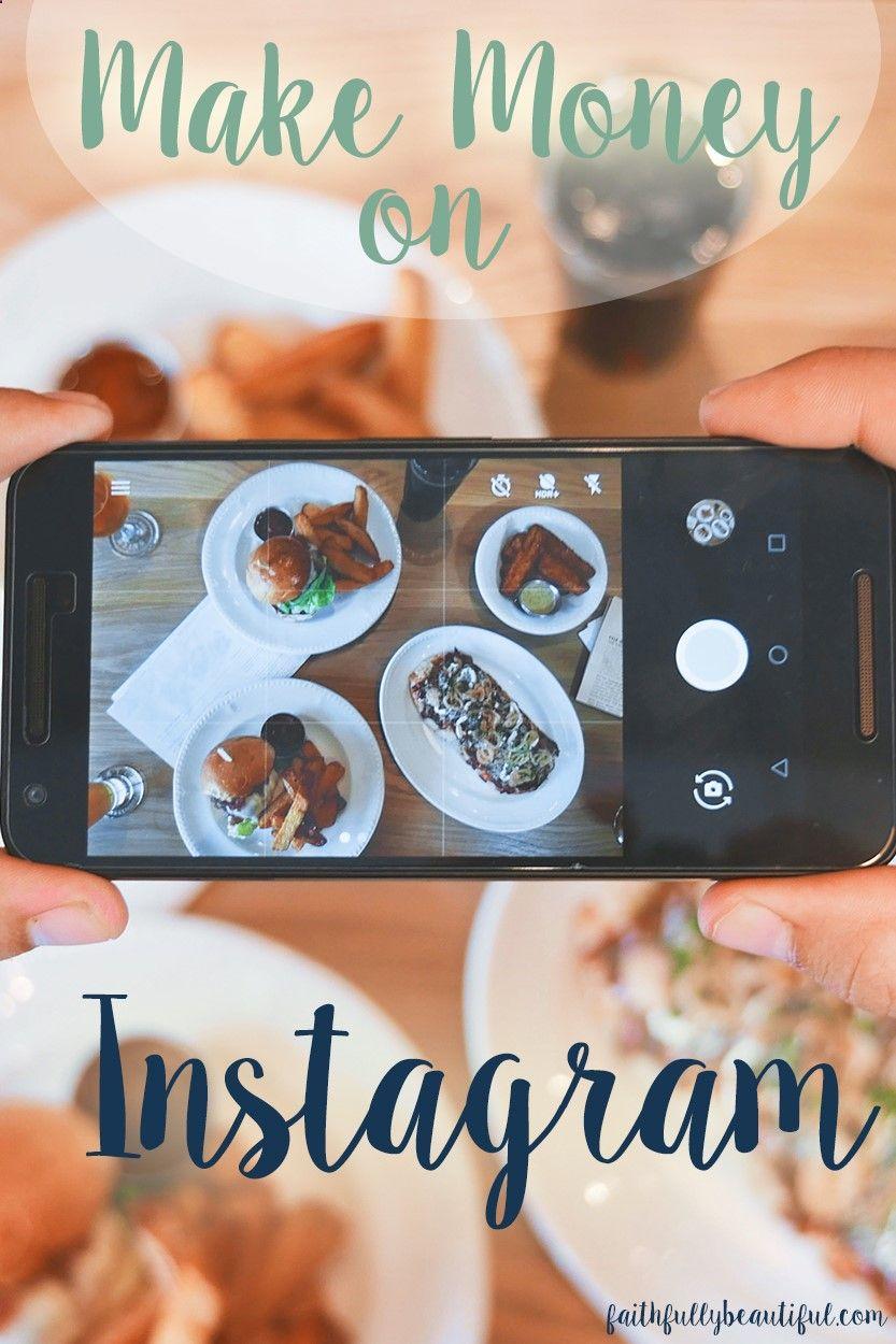How To Make Money On Instagram, Make Money Blogging, Get Paid To Instagram,