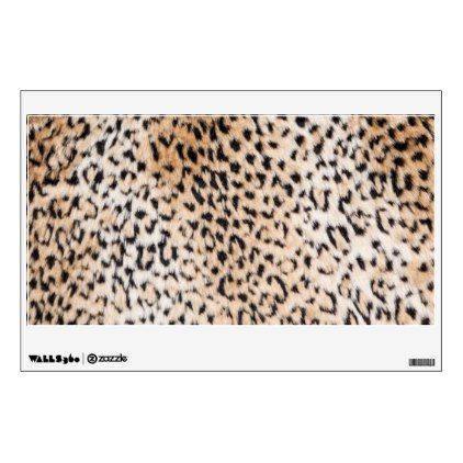Animal Print Wall Sticker   Walldecals Home Decor Cyo Custom Wall Decals