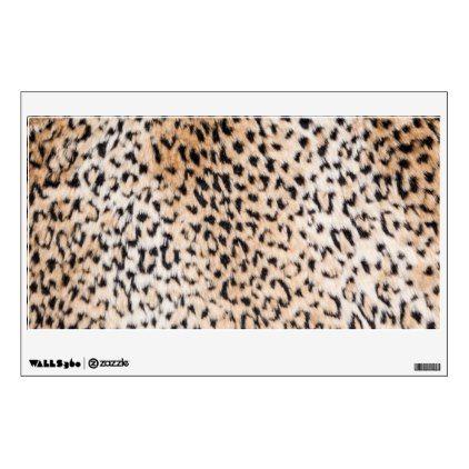 Animal Print Wall Sticker   Walldecals Home Decor Cyo Custom Wall Decals
