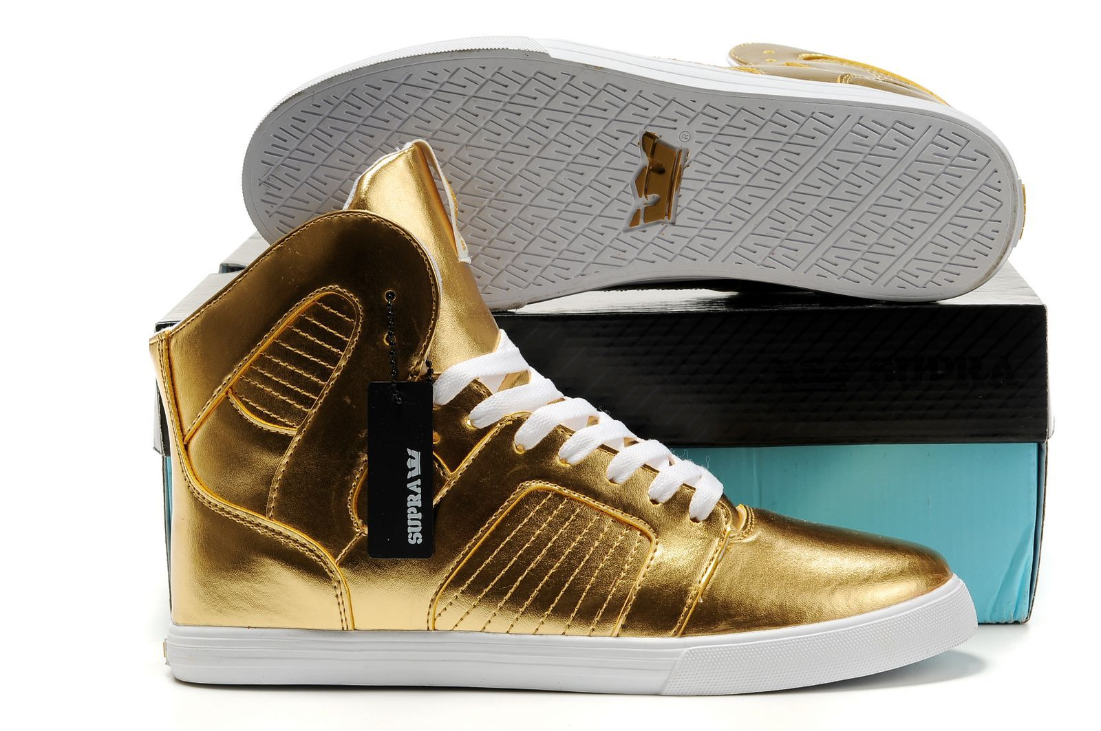 Supra Pilot Gold Shoes [A830028sp] - €76.50 : Scarpe Supra, Supra Italia