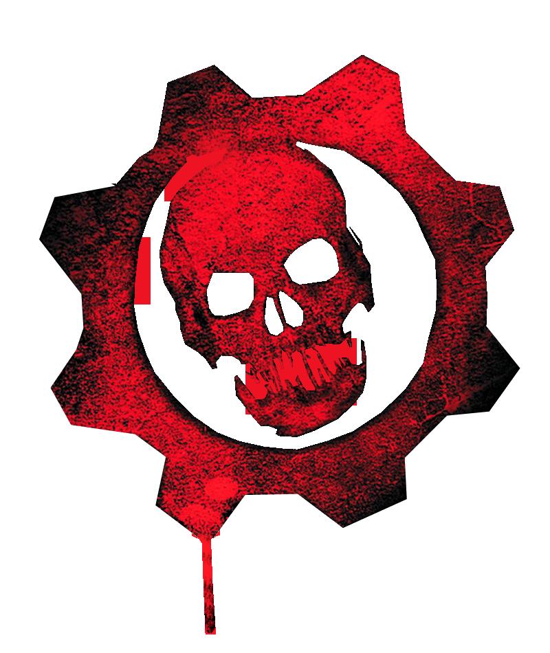 gears of war logo Oskar Herrera GearsOfWarSkull