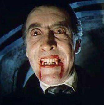 Dracula (1958)  Christopher Lee as Count Dracula