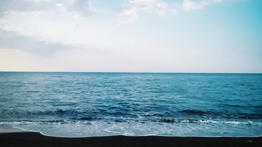Time Lapse Sea Waves And Stock Footage Video 100 Royalty Free 1034781407
