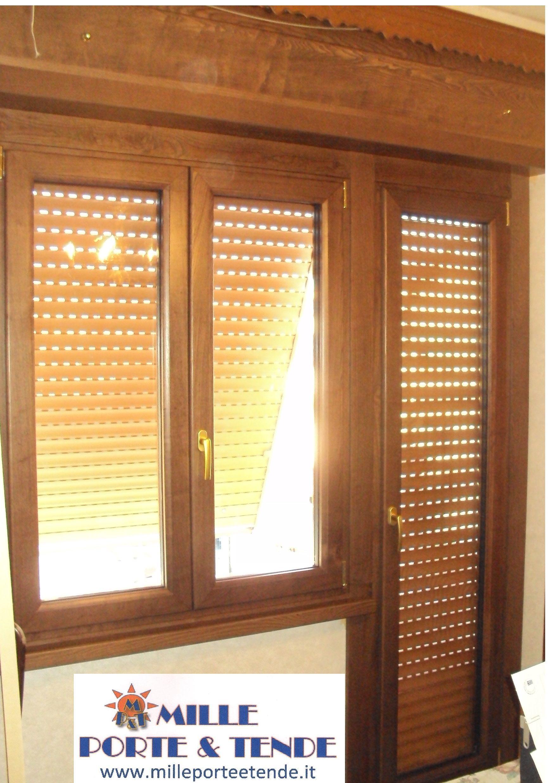 Le nostre meravigliose finestre in legno alluminio della - Finestre in alluminio effetto legno ...