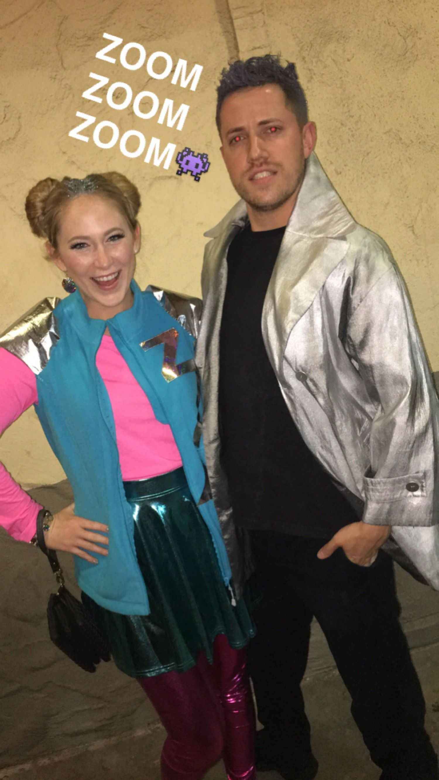 Zenon and Protozoa costumes zenon girl of the 21st century 90s couple costume  sc 1 st  Pinterest : 90s couples costume ideas  - Germanpascual.Com