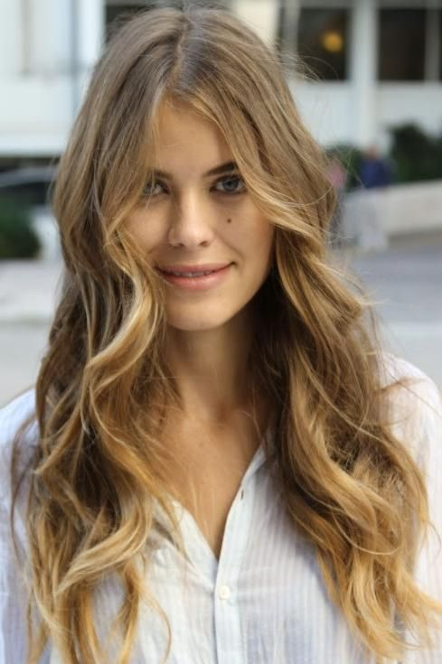 The Best Wash and Wear Cuts for Wavy Hair | Dark blonde ...
